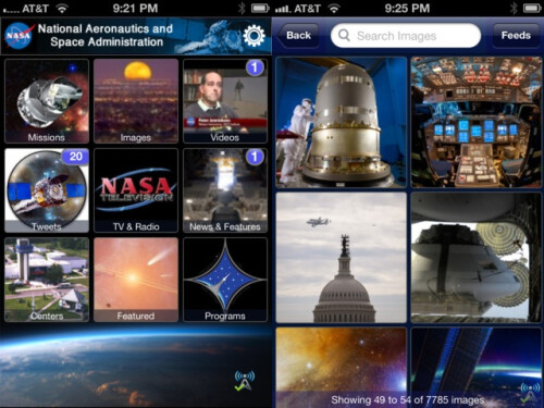 NASA App - iOS, Android - Free