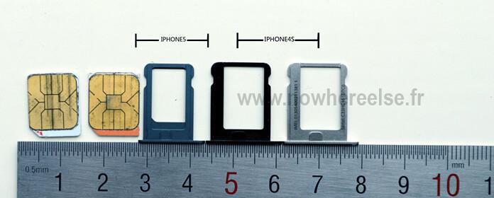 Iphone  Vs Iphone  Sim Card Size