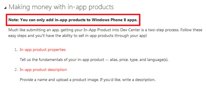 Microsoft reveals in-app purchasing is coming to Windows Phone 8 - In-app purchasing coming to Windows Phone 8, not before