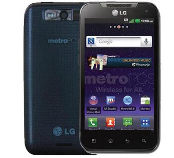 The LG Connect 4G provides VoLTE for MetroPCS customers