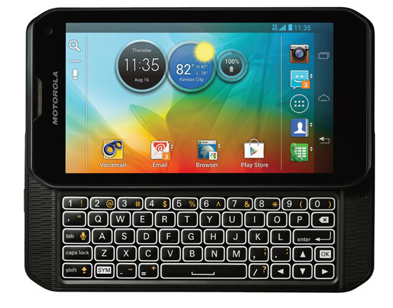 The Motorola DROID 4 style side slider on the Motorola PHOTON Q 4G LTE - Motorola PHOTON Q 4G LTE coming to Sprint August 19th?
