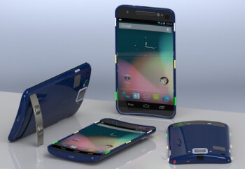 The concept Google Nexus D