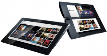 Sony Tablet S (L) and Sony Tablet P