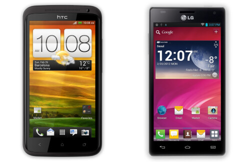 #2 - HTC One X and LG Optimus 4X HD