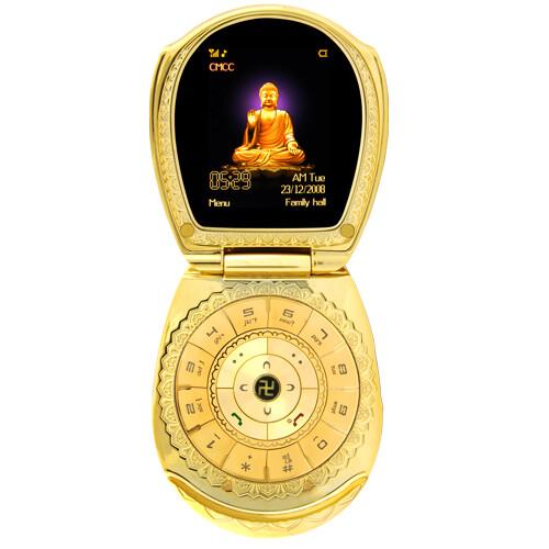 Golden Buddha Phone