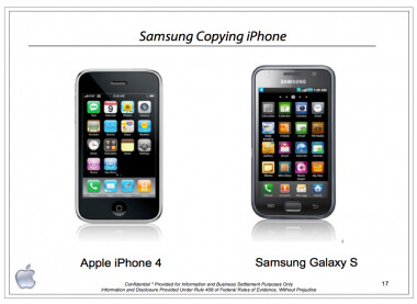 The cover of Apple's October 5th 2010 presentation to Samsung - Samsung declined the opportunity to license Apple's patents in 2010
