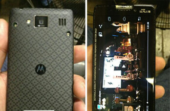 Leaked photos of what is claimed to be the Motorola DROID RAZR HD