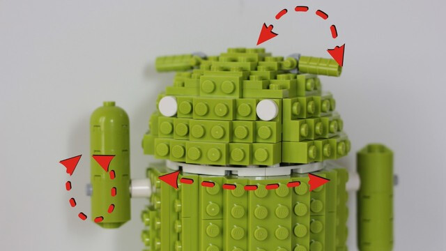 Some of the parts move - The big vote for 2012: Do you want Lego to produce an Android themed set?