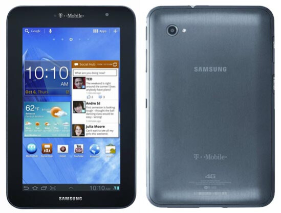 Samsung GALAXY Tab 7.0 Plus - T-Mobile: On Tuesday, Samsung GALAXY Tab 7.0 Plus gets Android 4.0.5, but through Kies only