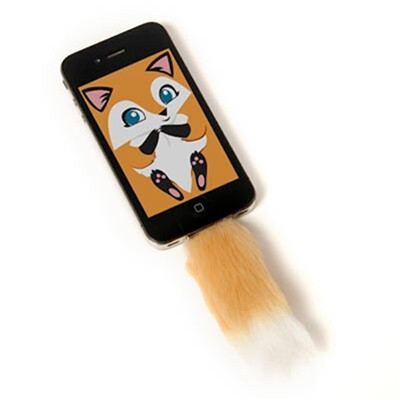 Faux tail for iPhone