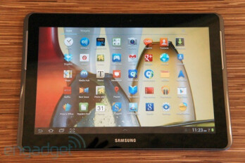 The Samsung GALAXY Tab 2 (10.1)