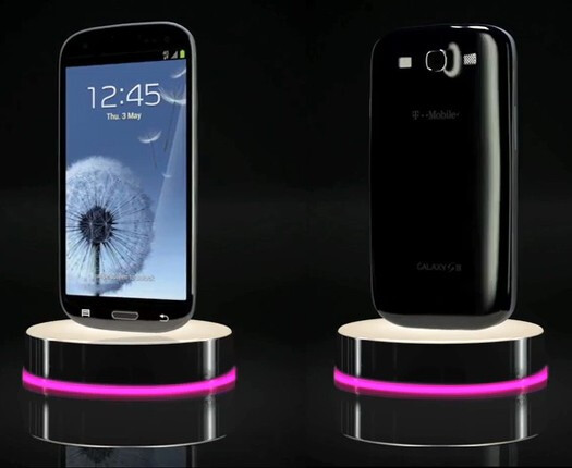 Black Samsung Galaxy S III appears on T-Mobile: glossy, gorgeous