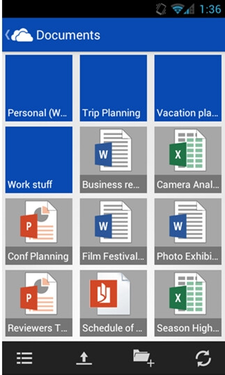 Official SkyDrive app for Android will be available soon