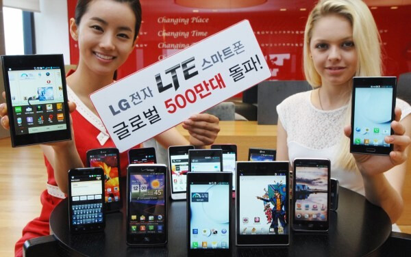 LG sold 5 million LTE smartphones, shoots for a 'second to none' LTE lineup soon
