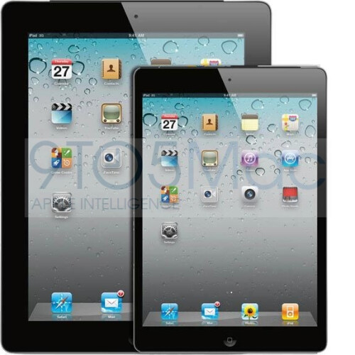 Educated guess mockups portray the iPad Mini as an Apple tablet at heart, stuffed into an iPod touch-thin body
