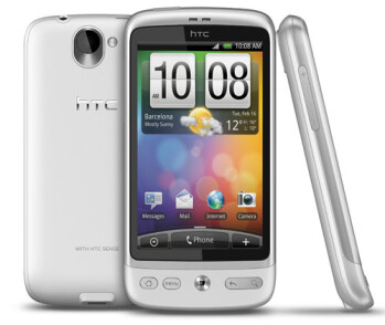HTC's signature industrial design on its flagship devices - HTC Desire, Sensation and One X