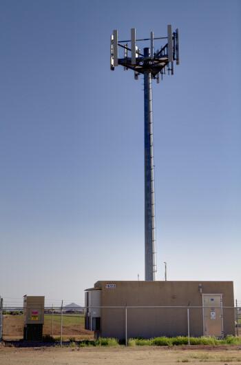 One of Verizon's LTE towers
