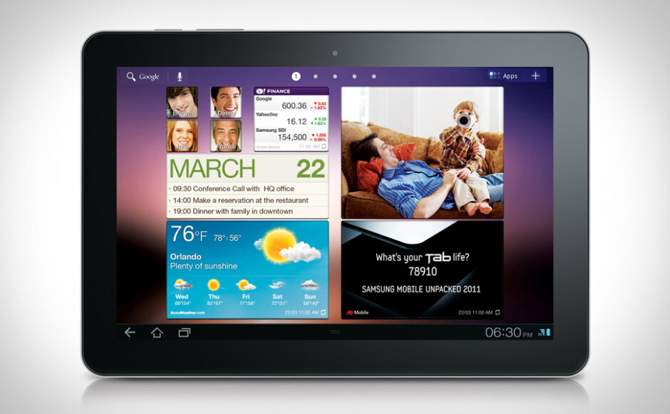 Samsung GALAXY Tab 10.1 - Samsung designer says that the Samsung GALAXY Tab 10.1 was planned before the Apple iPad launched