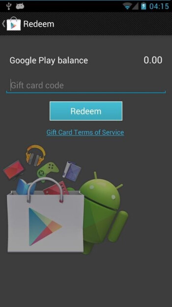 Google Play store gift cards might come pretty soon