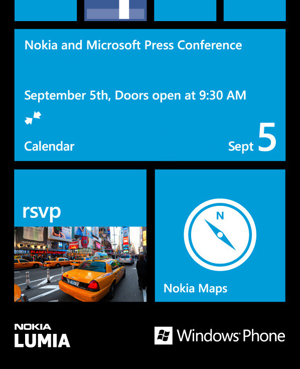 Nokia and Microsoft invite press for joint event on September 5th, new Lumias are coming