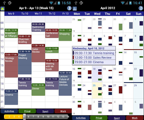 Best Calendar Apps For Android