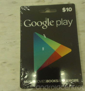 Are these the Google Play store gift cards?
