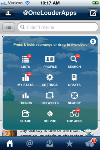 TweetCaster for iPhone