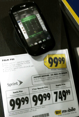 Confusing price tags breaking down the cost of a phone