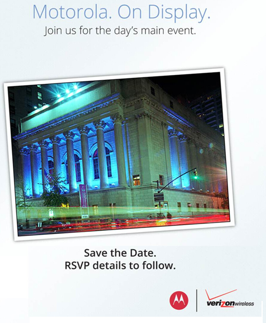 Will the Motorola DROID RAZR HD be introduced on September 5th? - Motorola and Verizon to hold September 5th event possibly related to Motorola DROID RAZR HD