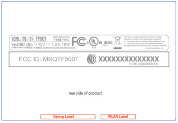 What appears to be a new mid-range tablet from ASUS has visited the FCC