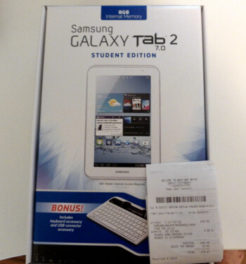 The Samsung GALAXY Tab 2 (7.0) Student Edition Bundle goes on sale Sunday for two weeks