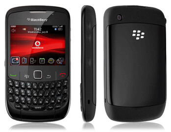 The BlackBerry Curve 8520 was atop the charts in three countries in the region last June