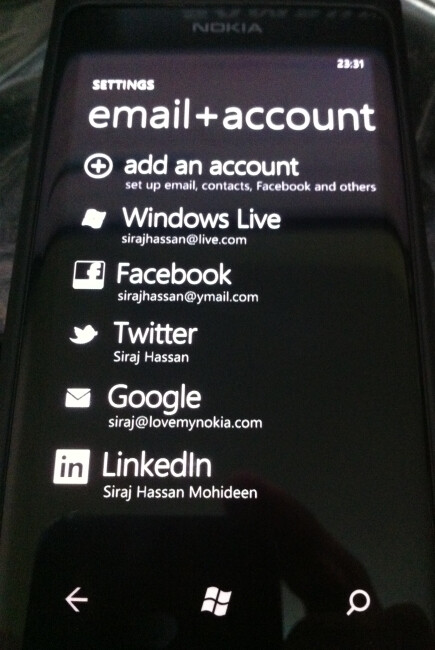 People Hub on Windows Phone - RIM to take a little from Android and Windows Phone for the contacts list in BlackBerry 10
