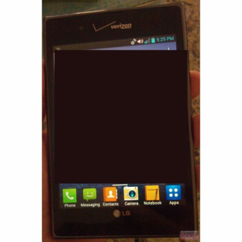 Verizon branded LG Optimus Vu