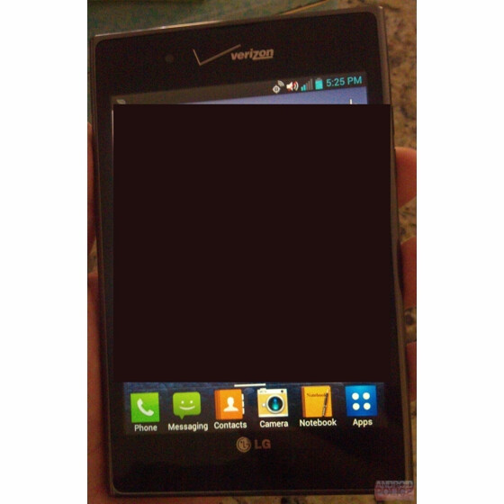 Verizon branded LG Optimus Vu - LG Optimus Vu to make global launch next month and should hit the States sometime this quarter