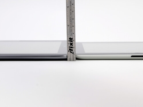 The Samsung GALAXY Note 10.1 is thin