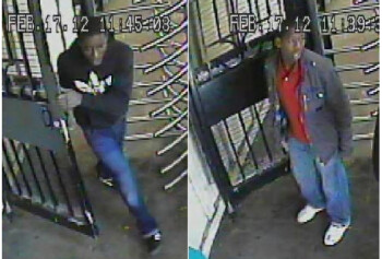 These two kids are accused of robbing an 81 year old man of his Apple iPhone in a subway platform robbery in New York City