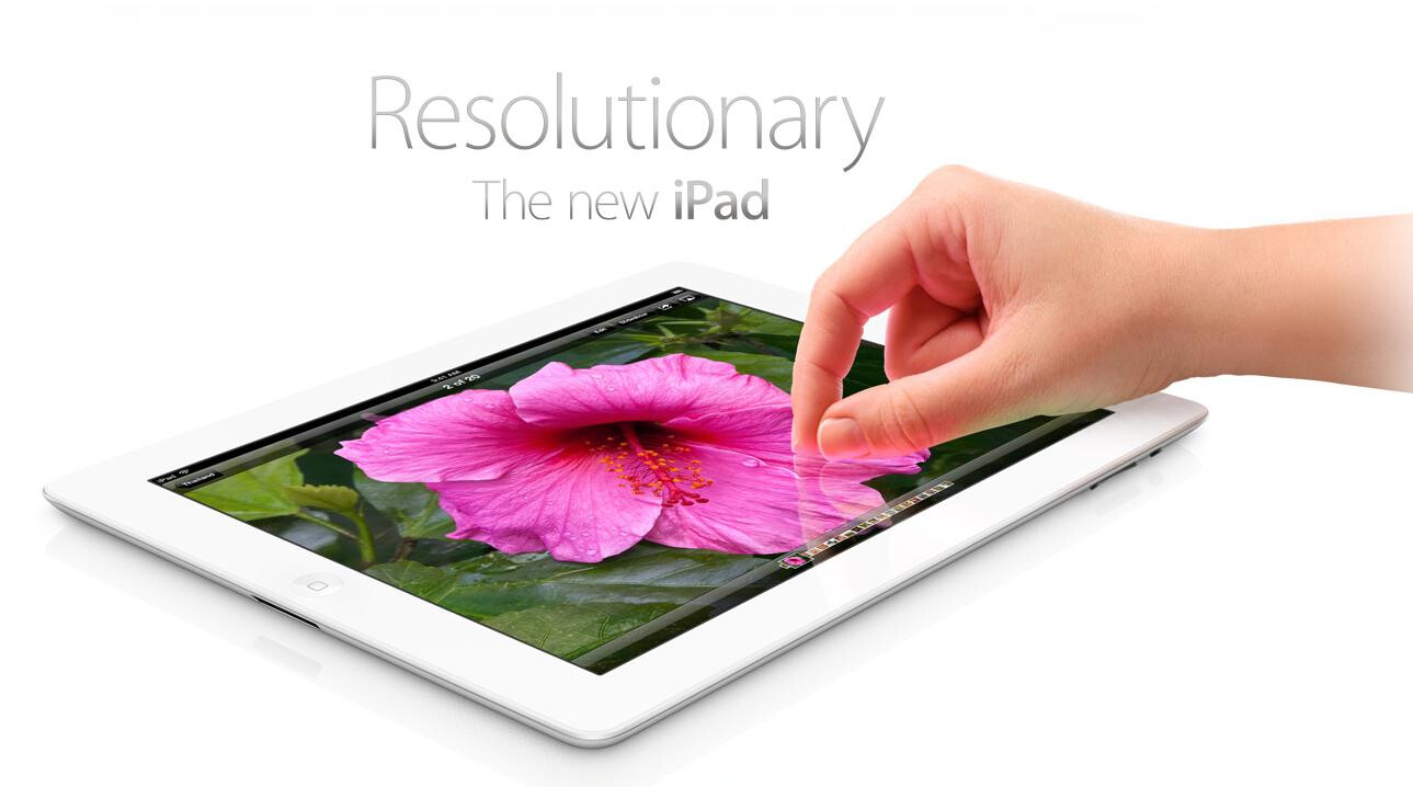 The new Apple iPad
