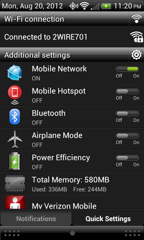 Official Ice Cream Sandwich ROM for the HTC Thunderbolt leaked