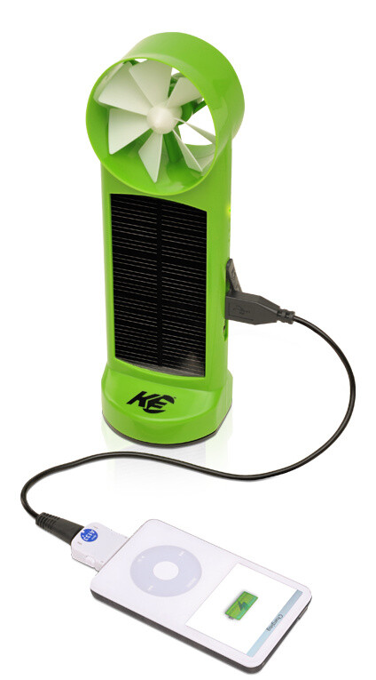 Kinesis Solar and Wind Powered Charger