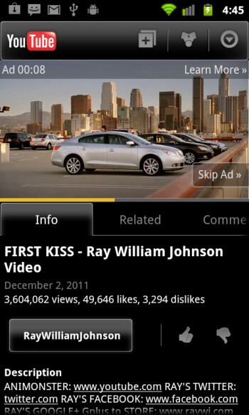 Google announces TrueView mobile ads in YouTube, iOS coming soon