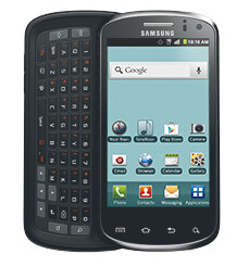 The Samsung Metrix 4G has a side-sliding QWERTY
