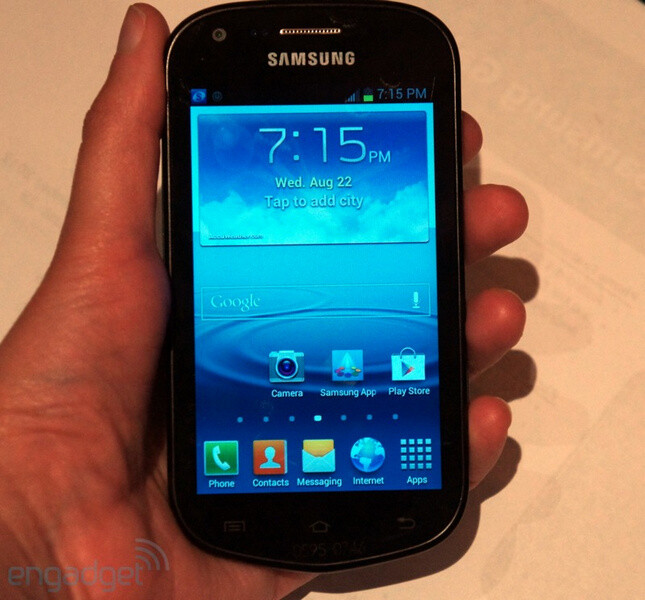 The Samsung Galaxy Reverb for Virgin Mobile - Samsung Galaxy Reverb is an Android mid-ranger for Virgin Mobile