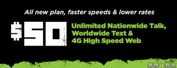 Simple Mobile now offers unlimited plan with 4G data for $50 per month