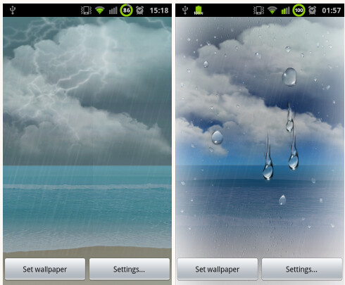Using live wallpapers on your Android phone significantly decreases battery life