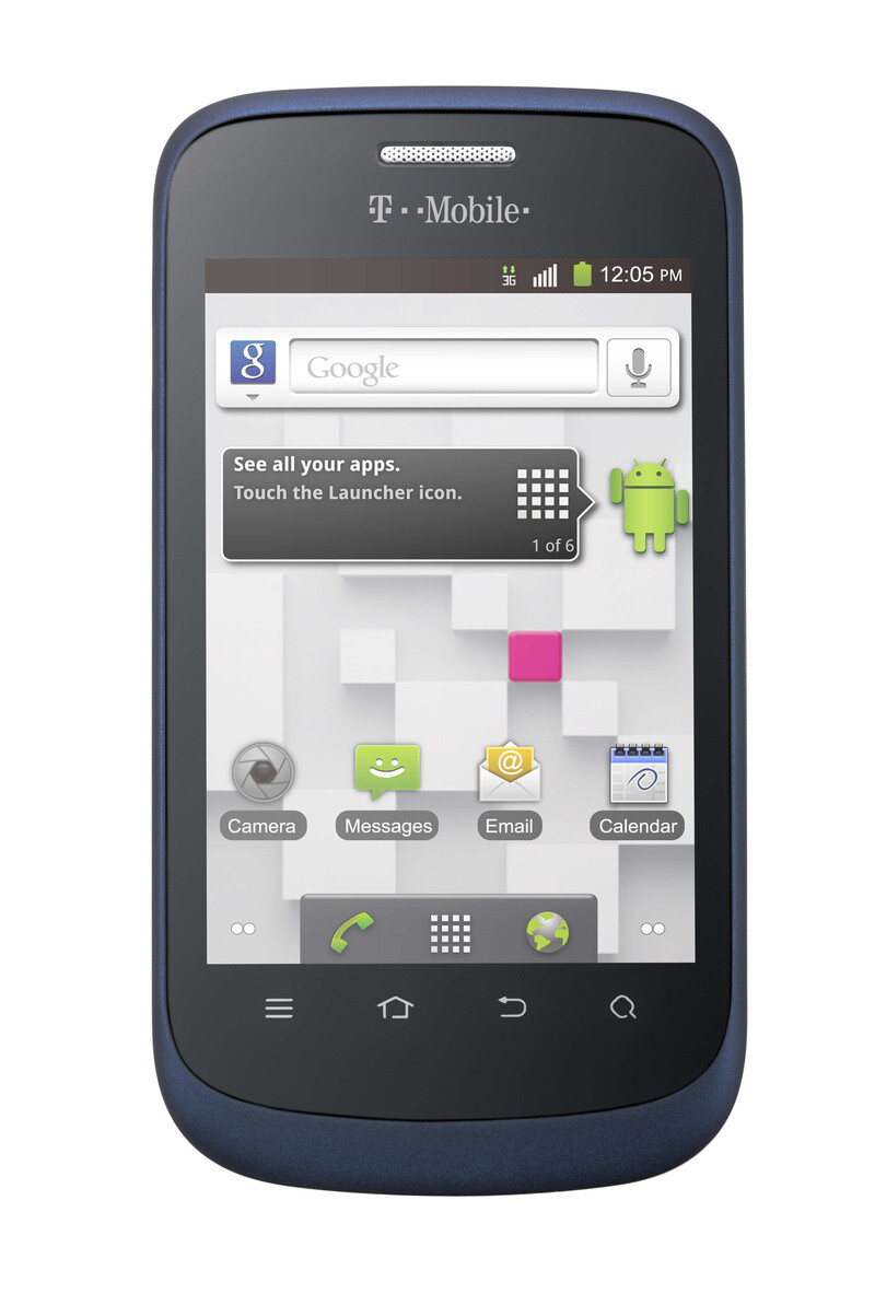 The T-Mobile Concord - T-Mobile Concord is the carrier's cheapest prepaid smartphone, priced at $99