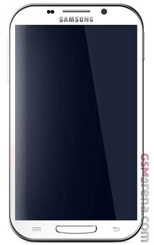Galaxy Note II mock-up #3