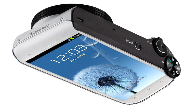 Mockup - Samsung: How about we slap a 16MP camera with Xenon on the back of a Galaxy S III (rumor)