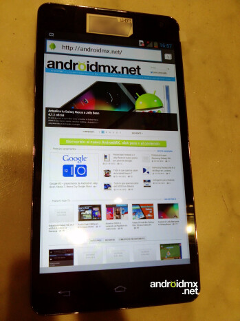 LG Optimus G prototype images surface