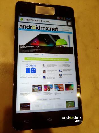 LG Optimus G prototype images surface